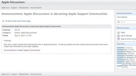 Apple abrirá su propia red social... de soporte técnico