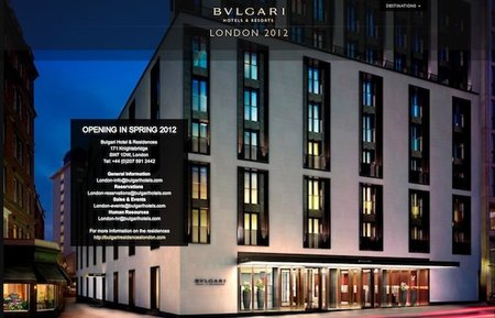 Bulgari Hotels & Resorts: próxima parada, Londres