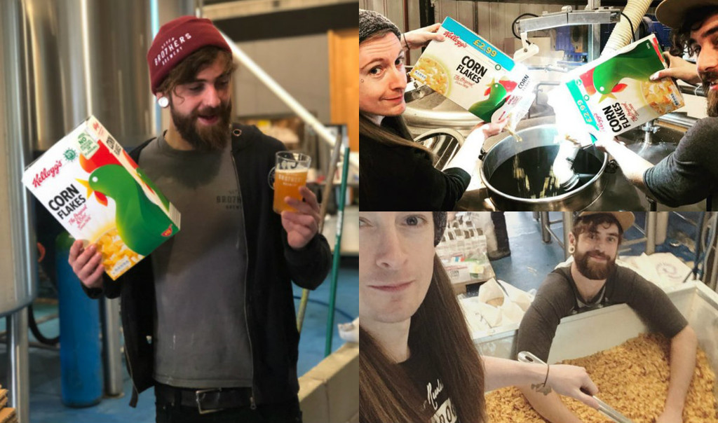 Kellog´s se alía con una cervecera inglesa para crear una IPA con los 'corn flakes' que no pueden venderse