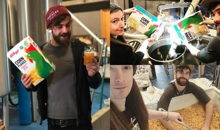 Kellogg´s se alía con una cervecera inglesa para crear una IPA con los 'corn flakes' que no pueden venderse