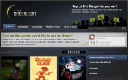 Steam Greenlight ya está disponible, Valve deja que decidamos qué juegos entran en su catálogo