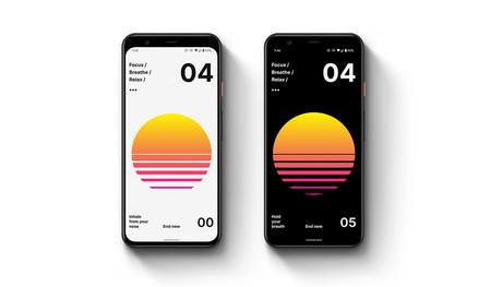 """Abduzeedo lanza su primera app: diseño bonito y minimalista que nos ayuda a """"respirar y relajarnos"""""""