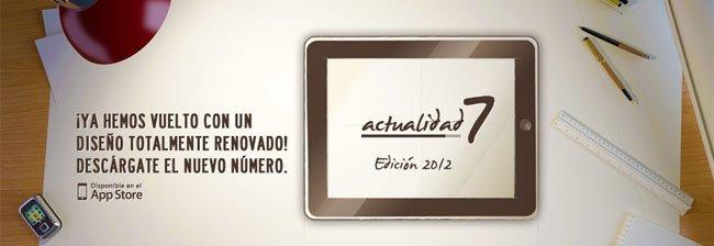 Actualidad7 magazine para el iPad