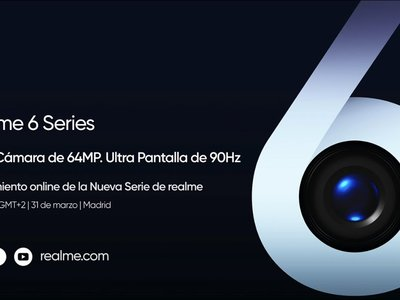 Realme 6 Series: presentación oficial en directo