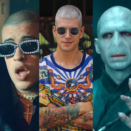 Diego Matamoros se somete al cambio de look más radical: es un híbrido entre Bad Bunny y Voldemort