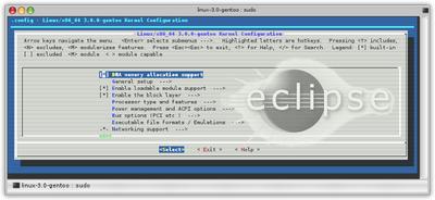 Configurar un entorno de desarrollo para el Kernel con Eclipse