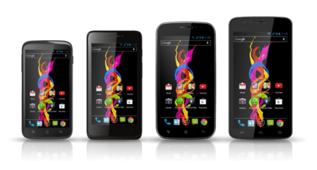 Archos presenta cuatro teléfonos asequibles con la familia Titanium