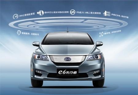 Byd E6 China
