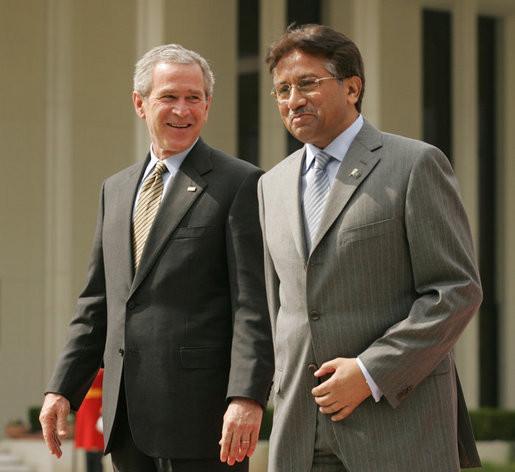 Bush In Islamabad