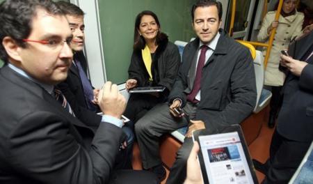 Los viajeros del Metro Ligero Oeste de Madrid ya tienen WiFi gratuito