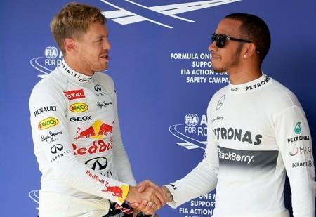 "Lewis Hamilton le manda un ""recadito"" a Sebastian Vettel"