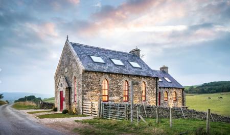 Iglesia reconvertida en casa