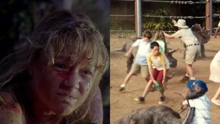 Jurassic World y Jurassic Park, el estornudo