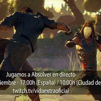 Streaming de Absolver a las 17:00h (las 10:00h en Ciudad de México) [finalizado]