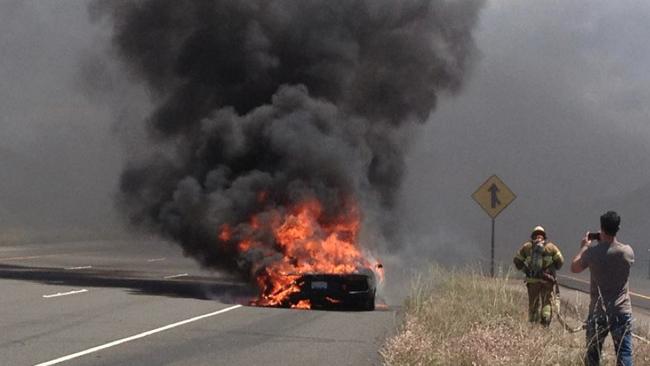 Dolorpasión: El primer Lamborghini Aventador víctima del fuego