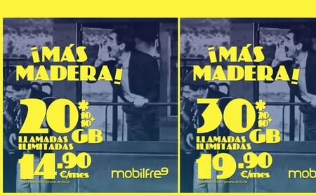 Mobilfree incrementa otros 5 GB gratis sus tarifas para competir con las mejores ofertas de 15 y 20 euros