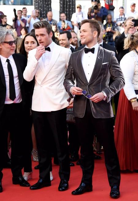 Brillando En Tom Ford Taron Egerton Llega A La Premiere De Rocketman En Cannes 2