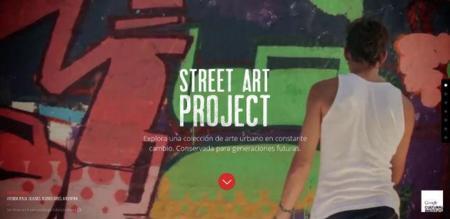 Google Street Art Project, arte urbano para la posteridad. La imagen de la semana
