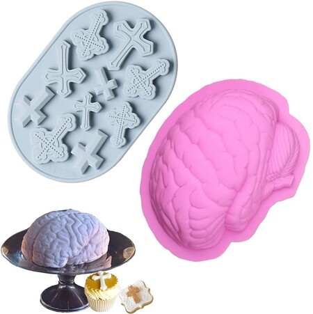 Molde cerebro Halloween