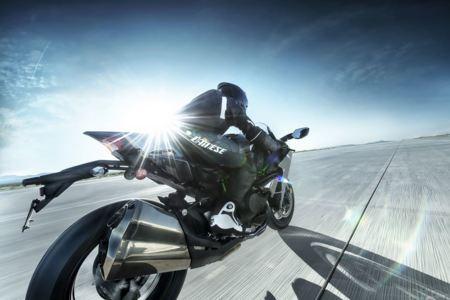 Una Kawasaki Ninja H2 para correr en Pikes Peak