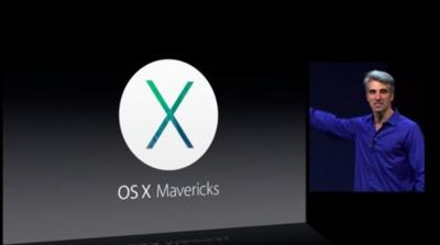 Apple anuncia OS X Mavericks