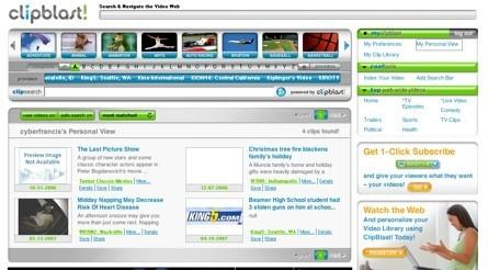 Clipblast, plataforma de búsquedas y distribución de vídeos