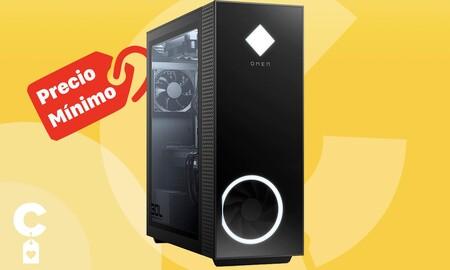 Un potente sobremesa gaming como el HP OMEN 30L GT13-1018ns es ahora más barato que nunca en Amazon: estrénalo por 1.229 euros