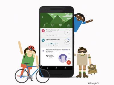 Google Fit se rediseña, mejora las metas y añade un nuevo widget configurable
