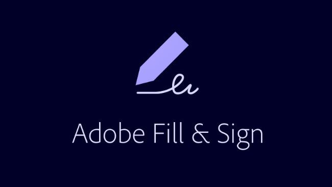 Adobe Fill & Sign