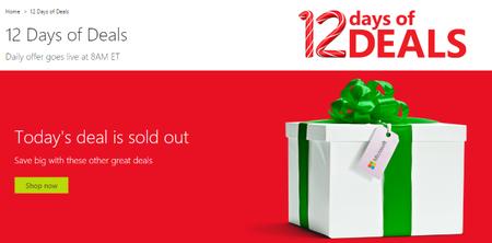 La Microsoft Store nos promete 12 días con enormes descuentos navideños