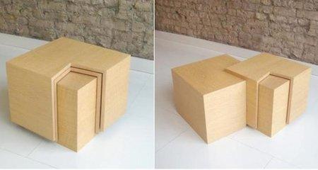Nest, mesas de café de Bloq muy prácticas