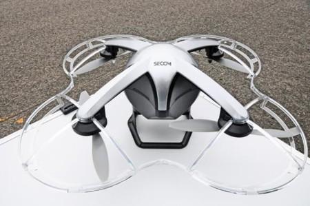 El dron Secom ayuda a las empresas de seguridad japonesas a poner sus ojos en el cielo