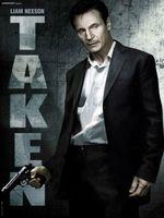 Póster de 'Taken', Liam Neeson es la justicia