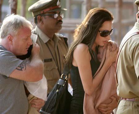 El guardaespaldas de Angelina Jolie al desnudo