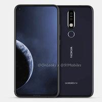 Nokia también se sumará a los móviles con agujero en la pantalla, según OnLeaks