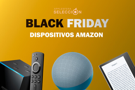 Grandes rebajas en los Fire TV Stick, TV Cube, altavoces Echo, Kindle y más por el Black Friday en Amazon