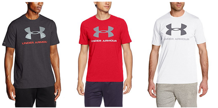 Camisetas Under Armour AW17 en varios colores desde 16,15 euros en Amazon
