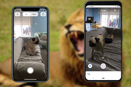 Cómo ver los animales 3D de Google en iPhone y Android:  leones, tiburones y tigres a través de la cámara