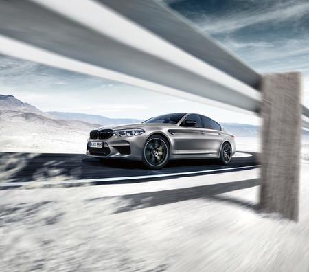 BMW M5 Competition dinámica