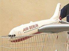 Air Berlín venderá bonos canjeables en supermercados