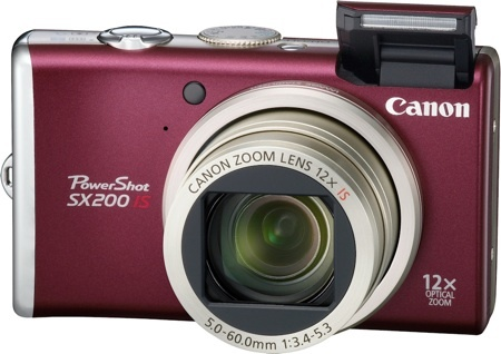 Canon PowerShot SX200 IS, compacta de zoom largo que dará guerra