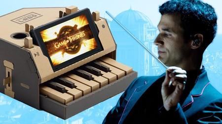 El compositor de Juego de Tronos interpreta el tema de apertura en Nintendo Labo