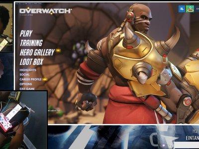 Overwatch: hay muchas maneras de jugar con Doomfist, pero lo más loco es usar un wiimote atado a un guante de boxeo