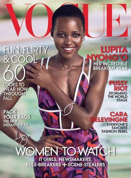 Lupita Nyong'o también conquista el Vogue