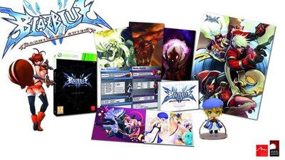 'BlazBlue: Continuum Shift' y sus ediciones especiales europeas