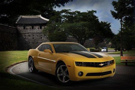 Chevrolet Camaro en Corea del Sur