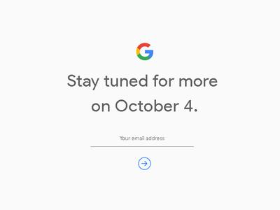 Es oficial: la nueva generación de los Pixel y Pixel XL será presentada el 4 de octubre