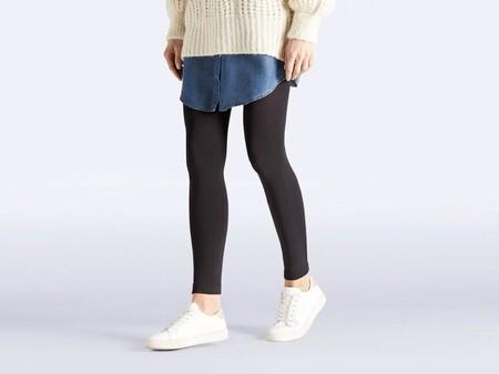 Leggings Termicos Negros Para Mujer 4