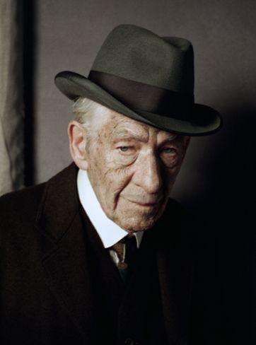Ian McKellen como Sherlock Holmes