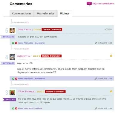 Más y mejores comentarios en Genbeta